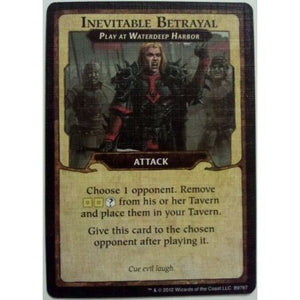 Lords of Waterdeep Inevitable Betrayal Promo Card