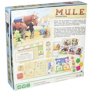M.U.L.E. The Board Game Box