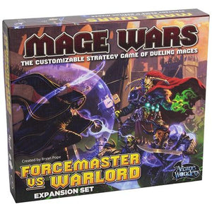 Mage Wars Arena Forcemaster vs Warlord Expansion Set