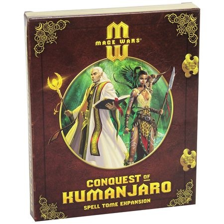 Mage Wars Conquest of Kumanjaro – Spell Tome Expansion