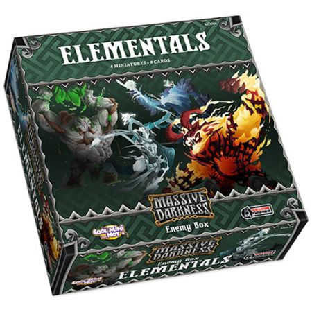 Massive Darkness Enemy Box – Elementals
