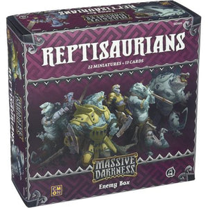 Massive Darkness Enemy Box – Reptisaurians