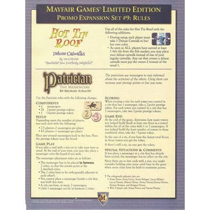 Mayfair Games' Limited Edition Promo Expansion Set #9