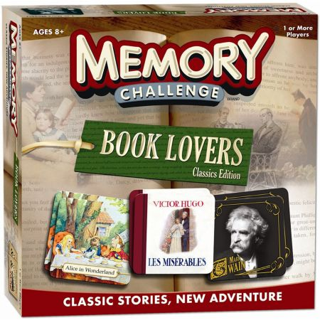Memory Challenge: Book Lovers Edition