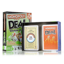 Monopoly Deal Card Game Components