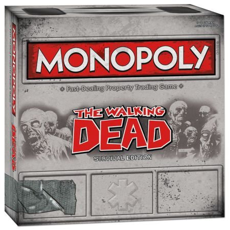 Monopoly The Walking Dead – Survival Edition