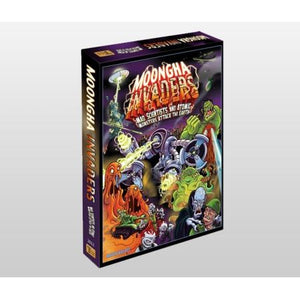 Moongha Invaders Mad Scientists and Atomic Monsters Attack the Earth!