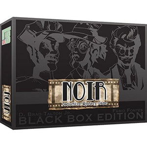 NOIR Deductive Mystery Game Black Box