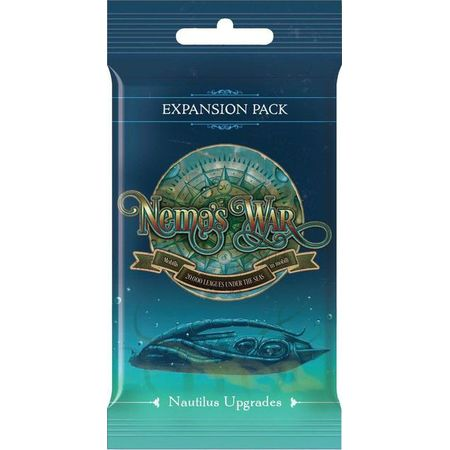 Nemo's War (second edition) Nautilus Upgrades Expansion Pack