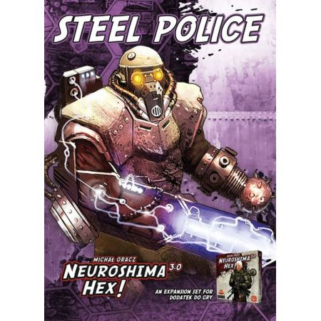 Neuroshima Hex! Steel Police 3.0 Edition