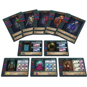 One Deck Dungeon Cards