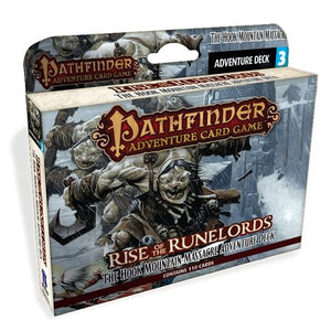 Pathfinder Adventure Card Game: Rise of the Runelords – Adventure Deck 3: The Hook Mountain Massacre