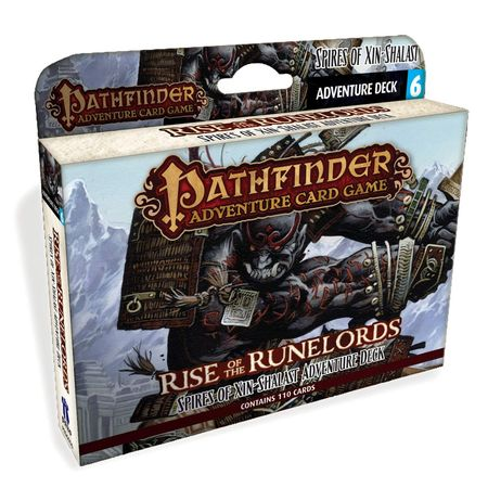 Pathfinder Adventure Card Game Rise of the Runelords – Adventure Deck 6 Spires of Xin-Shalast