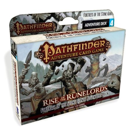 Pathfinder Adventure Card Game Rise of the Runelords – Fortress of the Stone Giants Adventure Deck 4