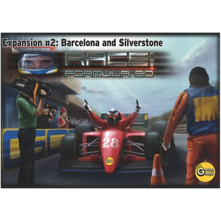 Race! Formula 90 Expansion #2 – Barcelona and Silverstone