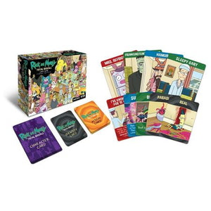 Rick and Morty Total Rickall Card Game Components