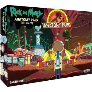 Rick and Morty Anatomy Park - The Game