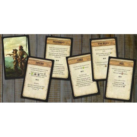 Robinson Crusoe: Adventures on the Cursed Island – Trait Cards I