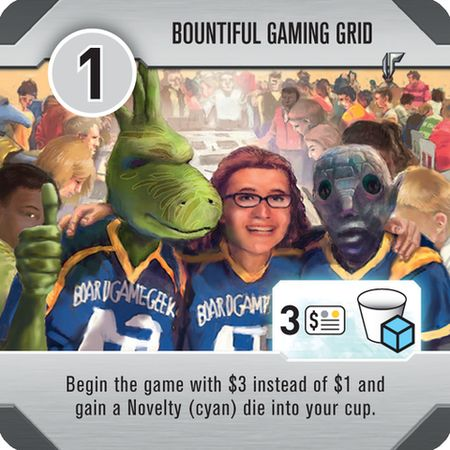 Roll for the Galaxy Bountiful Gaming Grid Promo Tile