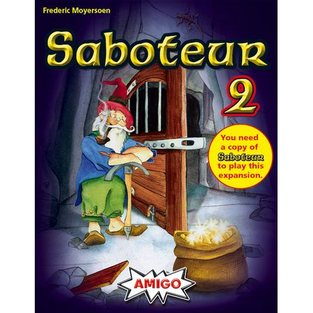 Saboteur 2 (expansion-only editions)