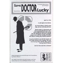 Save Doctor Lucky Cheapass