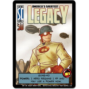 Sentinels of the Multiverse America's Greatest Legacy Promo Card