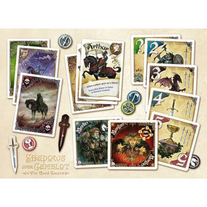 Shadows over Camelot The Card Game Components