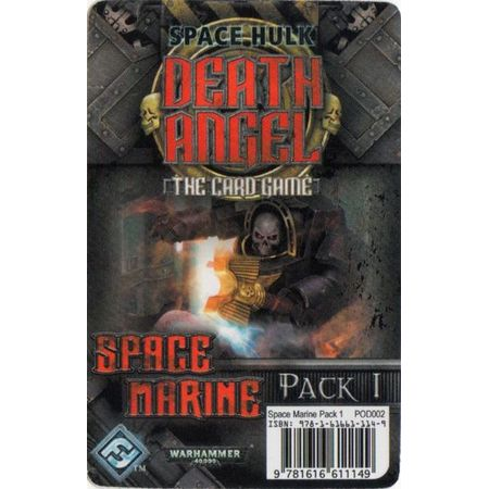 Space Hulk Death Angel – The Card Game Space Marine Pack 1