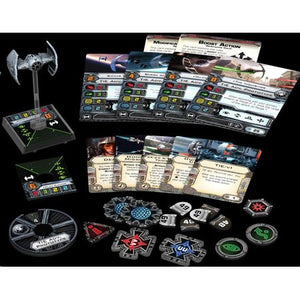 Star Wars X-Wing Miniatures Game – Inquisitor's TIE Expansion Pack Components
