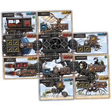 Steampunk Rally Cards