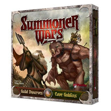 Summoner Wars Guild Dwarves vs Cave Goblins
