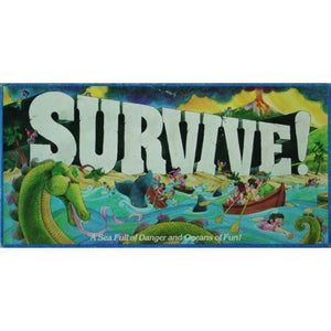 Survive Escape from Atlantis! Parker Brothers