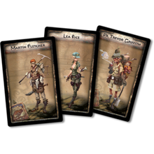The Adventurers The Temple of Chac Cards