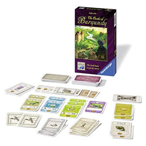 The Castles of Burgundy: The Card Game Components