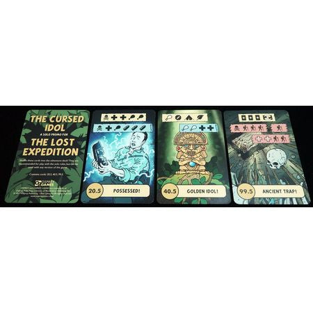 The Lost Expedition The Cursed Idol Promo Cards