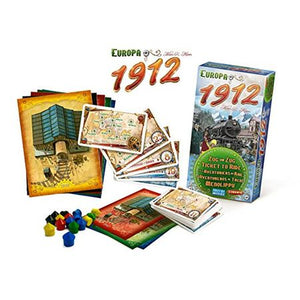 Ticket to Ride Europa 1912 Components