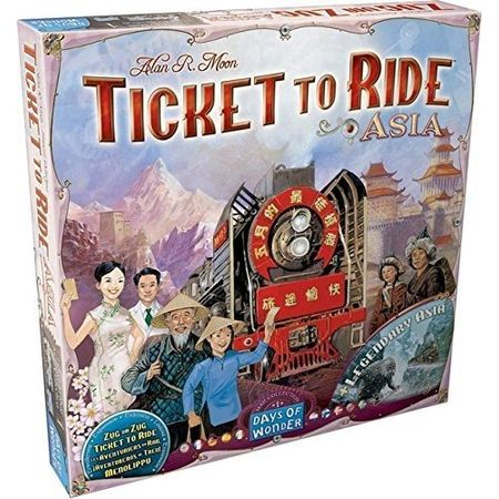 Ticket to Ride Map Collection Volume 1 – Team Asia & Legendary Asia