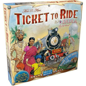 Ticket to Ride Map Collection Volume 2 – India & Switzerland
