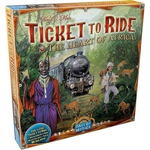 Ticket to Ride Map Collection Volume 3 – The Heart of Africa