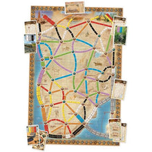 Ticket to Ride Map Collection Volume 3 – The Heart of Africa Components