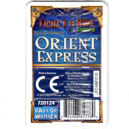 Ticket to Ride Orient Express