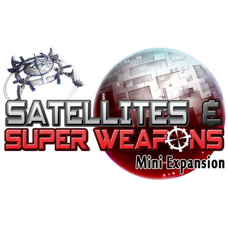 Tiny Epic Galaxies Satellites & Super Weapons Mini Expansion
