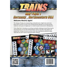 Trains Map Pack 1 – GermanyNortheastern USA