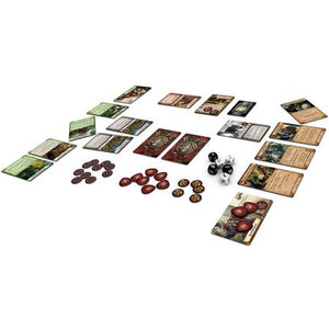 Warhammer Quest The Adventure Card Game Components