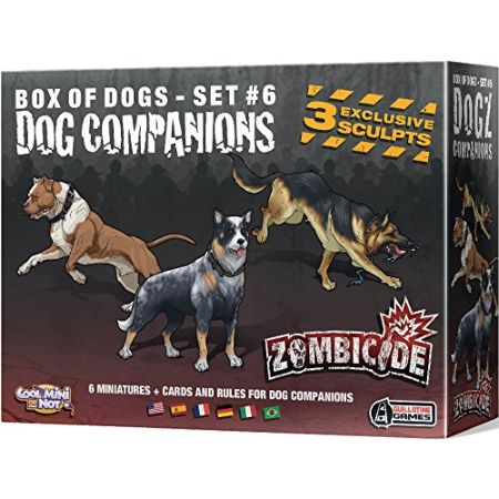 Zombicide Box of Dogs Set #6 Dog Companions