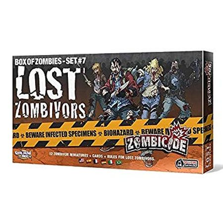 Zombicide Box of Zombies Set #7 Lost Zombivors