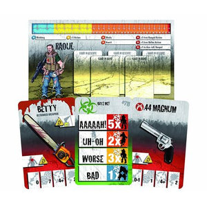 Zombicide Toxic City Mall Cards