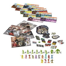 Zombicide Toxic City Mall Components
