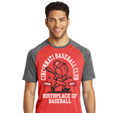 Birthplace of Baseball Red Tee