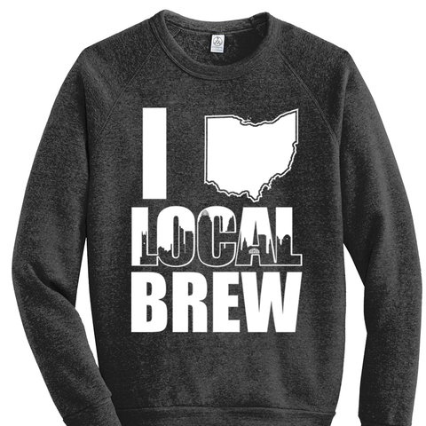 Drink Local Brew Crewneck Sweatshirt